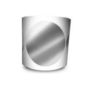 Etiqueta Redonda - Etiquetas Adesivas Bolinha Prata 6 cm 1 Milheiro