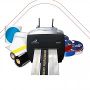 Kit Impressora Elgin L42 PRO + Etiqueta Redonda Transparente, Metalizada e Fita de Cetim
