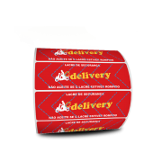 Lacre para Delivery 100x30 mm Milheiro