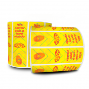 Lacre De Segurança Pizza 100X30 mm Milheiro