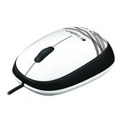 Mouse Logitech M105 Com Fio Usb Óptico Branco
