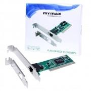 Placa De Rede 10/100mbps Pci Chipset Realtek - Mymax