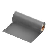 Ribbon Resina Prata Fosco 110x74m para BOPP