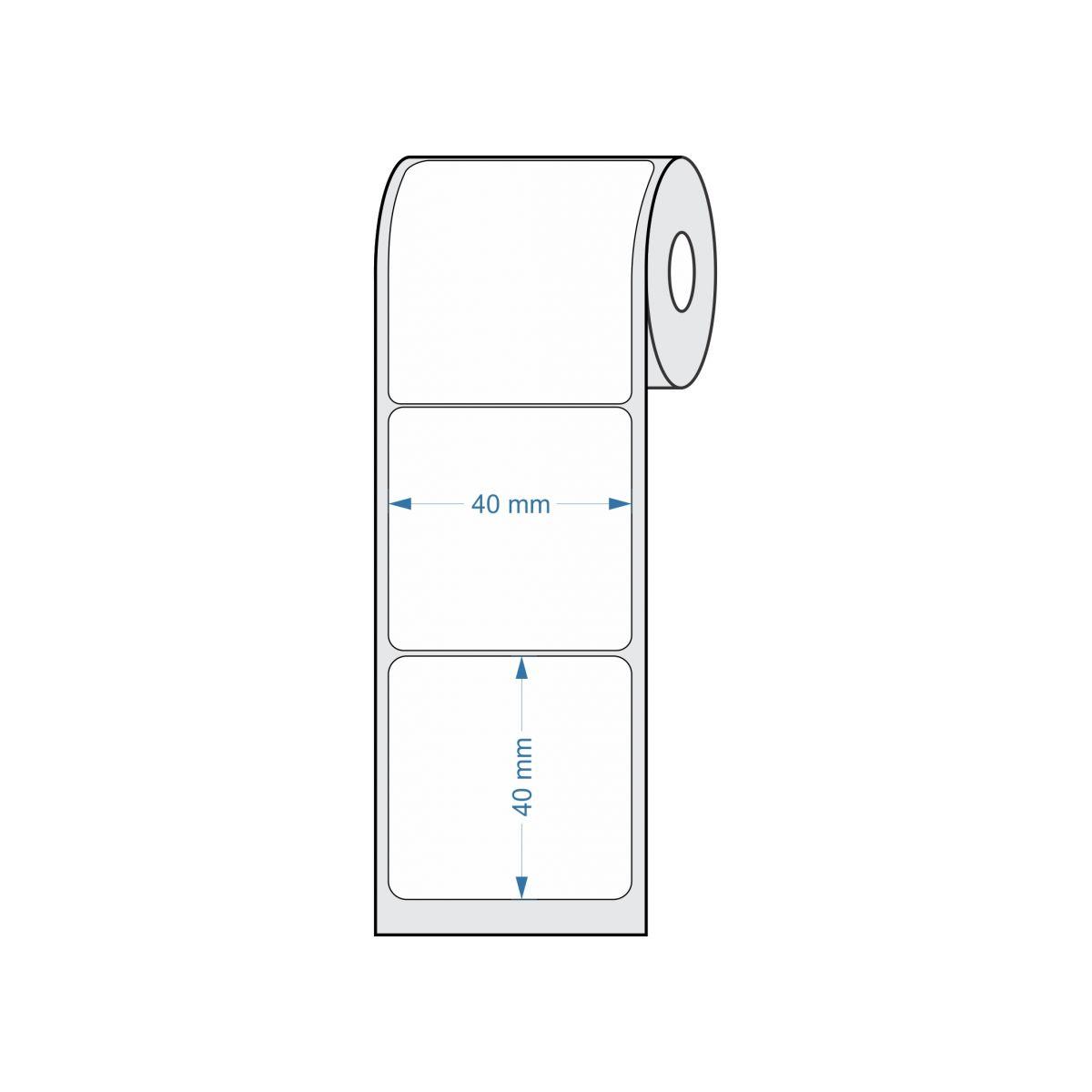 Etiquetas para Balança 40x40 25 metros