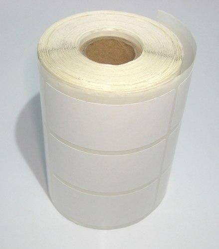 Etiquetas Adesivas 30x70 Mm Couche 3 Colunas