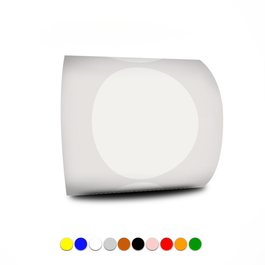 Etiqueta Redonda - Etiquetas Adesivas Bolinha Colorida 4cm 10 Rolos