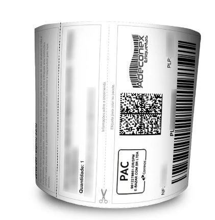Etiqueta Mercado Livre com cabeçalho 100x175 Mm Couchê – Milheiro