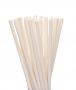Canudo De Papel Biodegradavel Branco 6mm - 100 Und