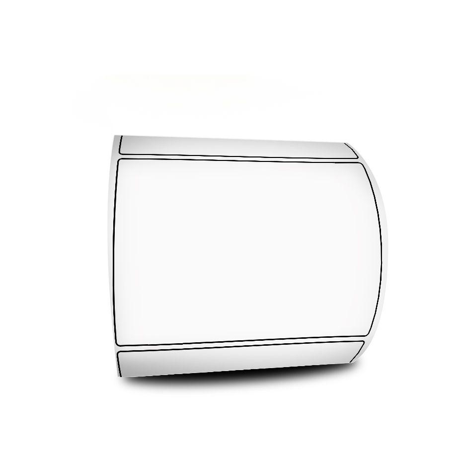 Etiqueta 60x40 mm Bopp Fosco Milheiro Branca 1 Rolo