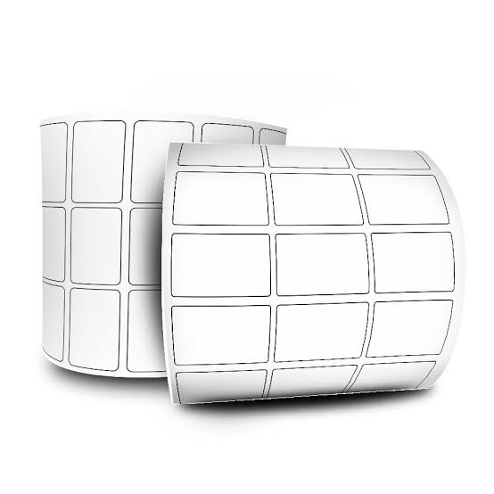 Etiqueta Adesiva Couchê 34x23 3 Colunas sem Espaçamento 32 Metros