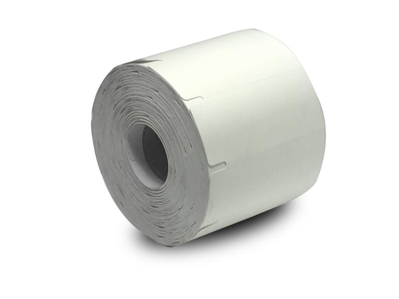 Etiqueta Gondola 75x35 Mm Couchê Não Adesiva Branca - 6 Rolos