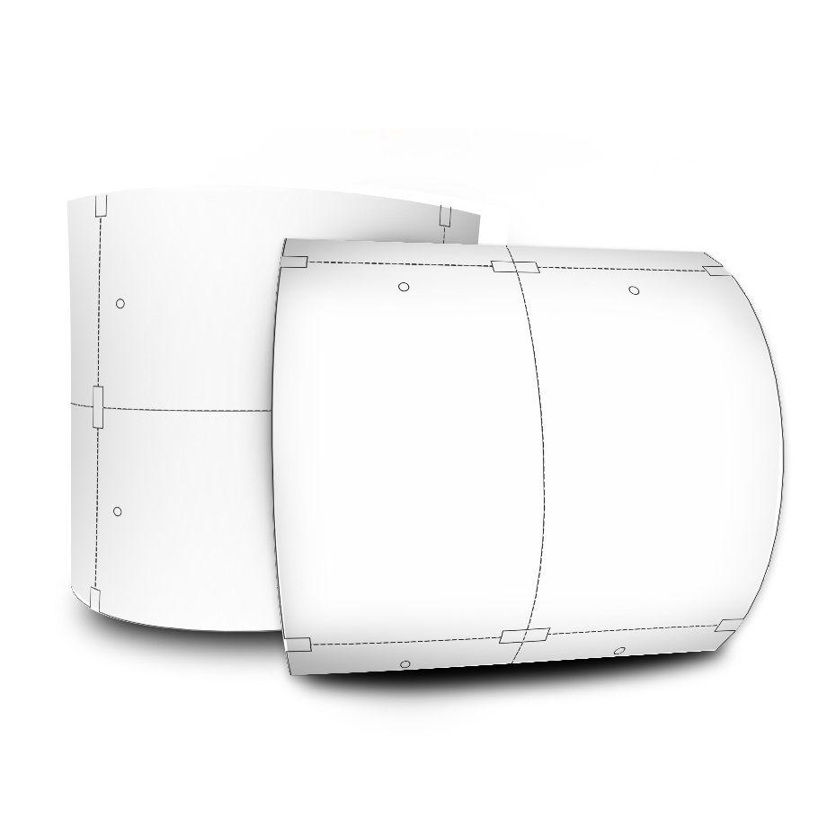 Etiqueta Tag 50x75 Mm Couchê 32 Metros Não Adesiva