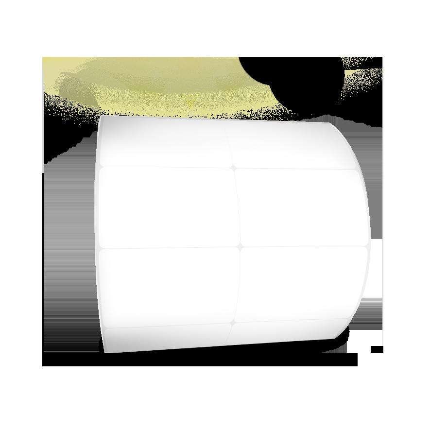 Etiquetas Adesivas 50x40 mm BOPP 32 Metros