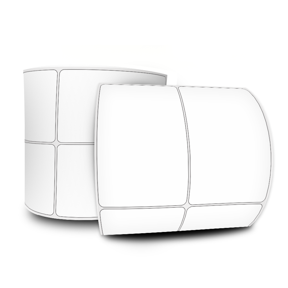 Etiquetas Adesivas  50x75 Mm Couchê 2 Colunas