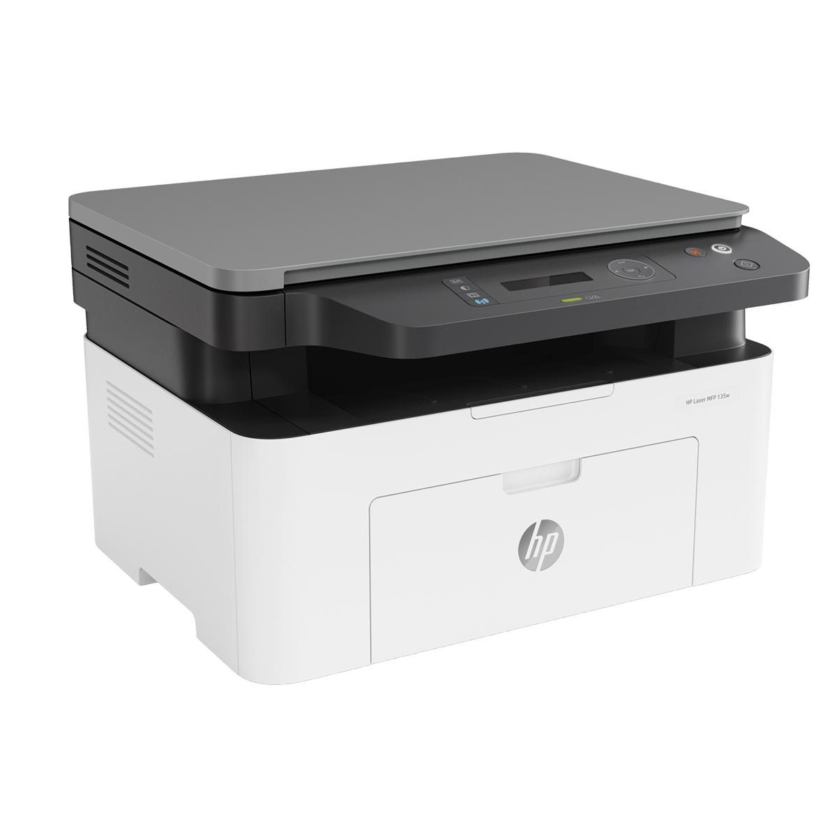 Impressora Multifuncional Hp 135a 110v - 127v Branca E Cinza