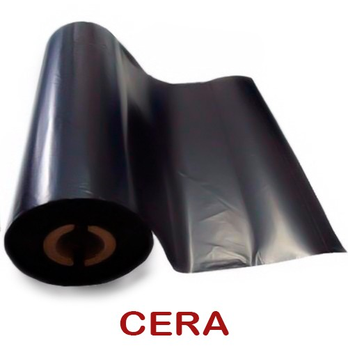 Etiqueta Gondola 105x30 Não Adesiva - kit - 2 Rolos + Ribbon Cera
