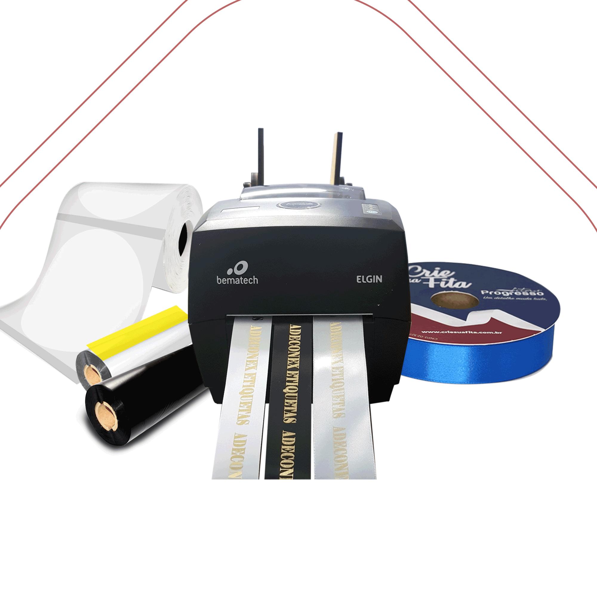 Kit Impressora para Fita de Cetim