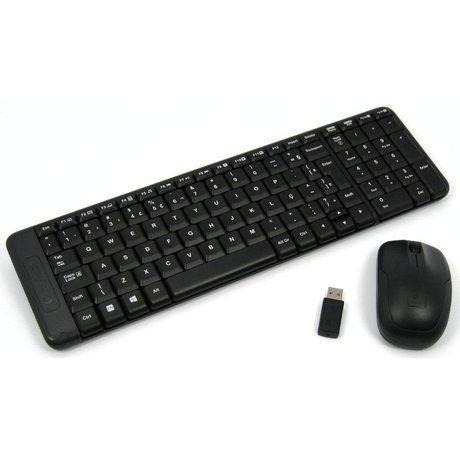 Kit Teclado E Mouse Logitech Mk220 Wireless