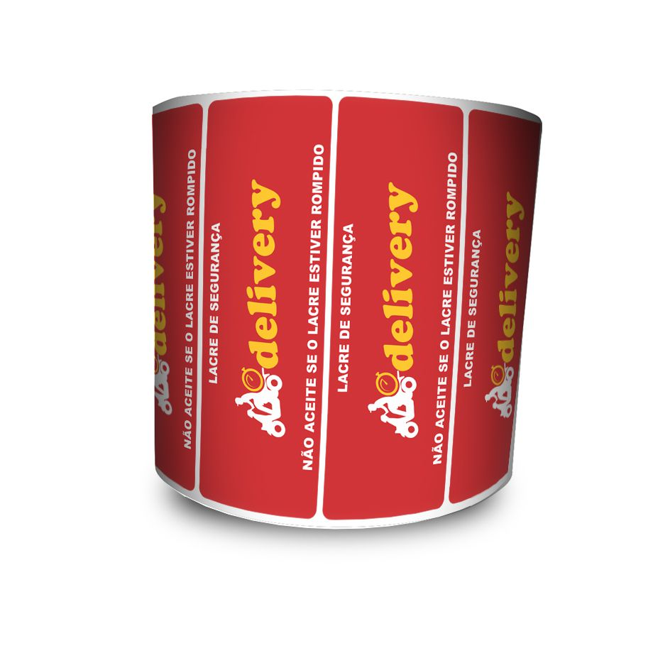 Lacre De Segurança Delivery 94x30 mm Milheiro