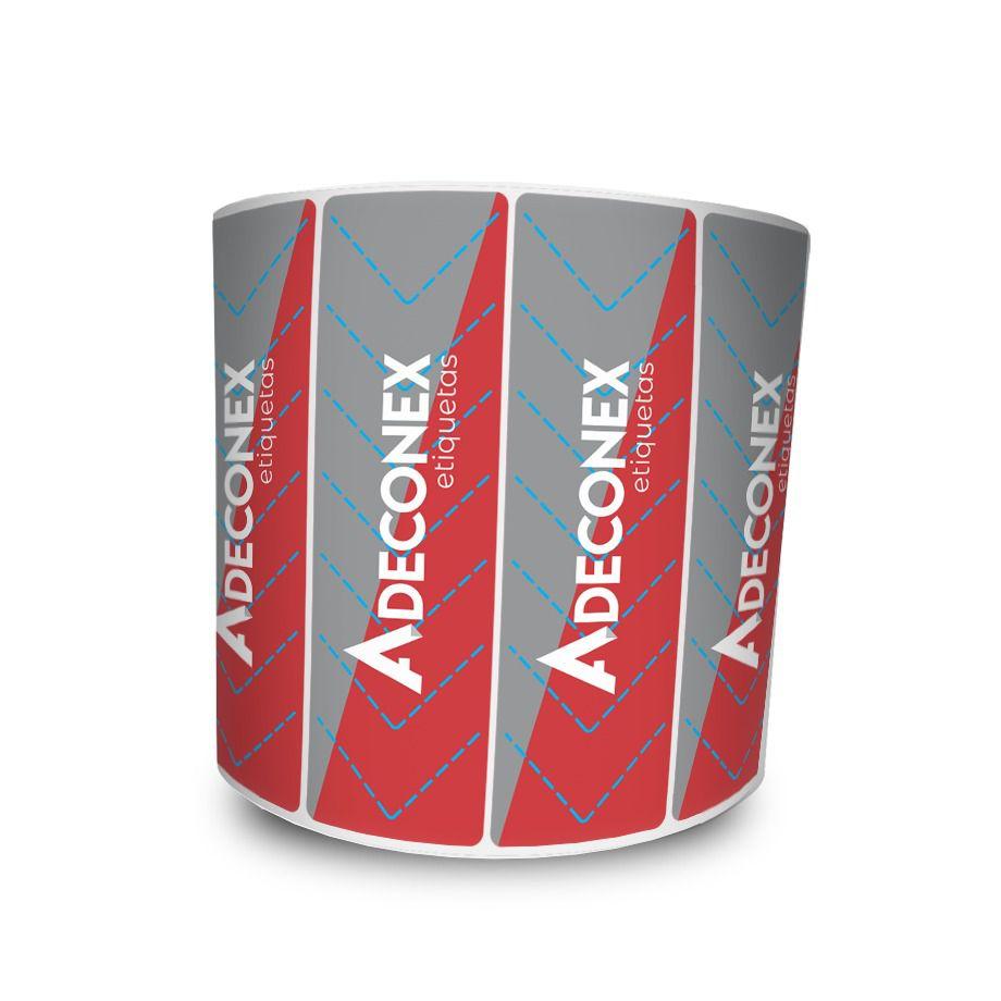 Lacre para Delivery Personalizado 3 Cores 100x30 mm 10 Milheiros