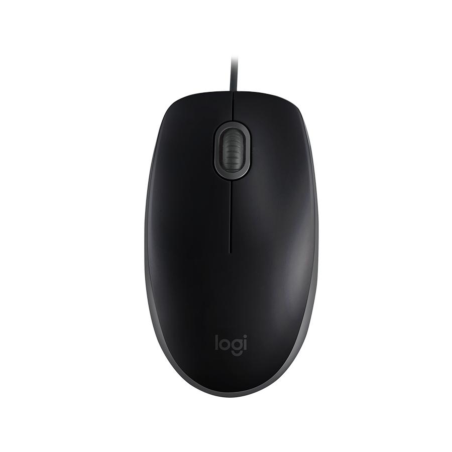 Mouse Logitech M110 Com Fio Preto