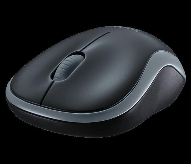 Mouse Logitech M185 Cinza Usb Sem Fio