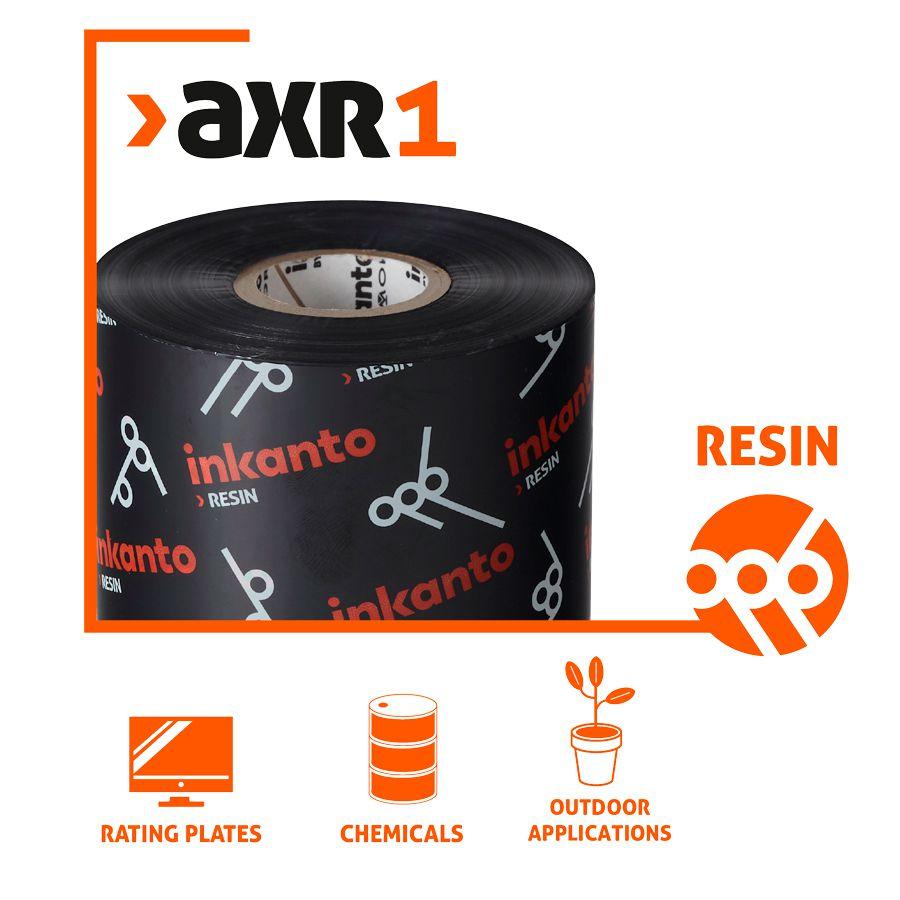 Ribbon 110x300 M - Resina AXR1 Inkanto