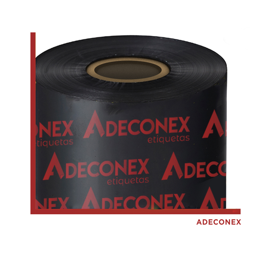 Ribbon Cera 110x450m Adeconex