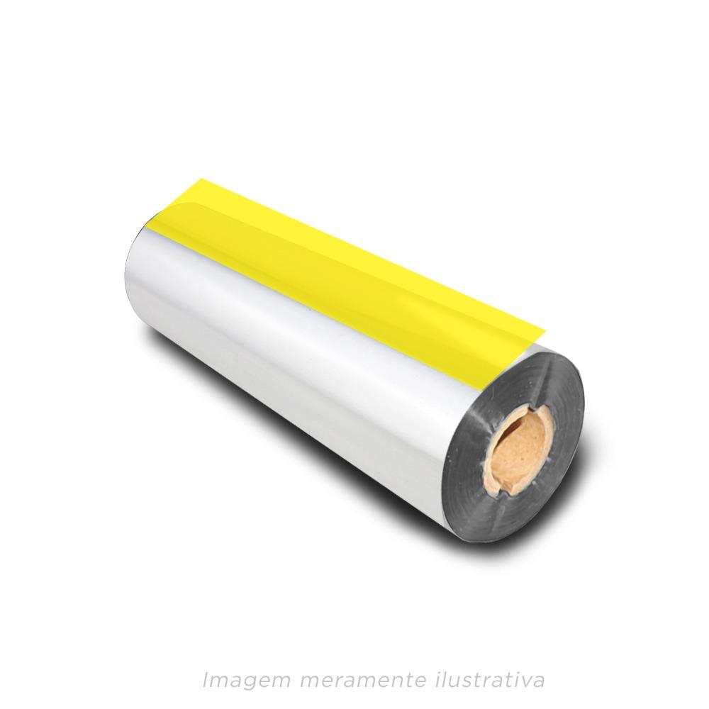 Ribbon Resina 110x65 Dourado para Fita de Cetim