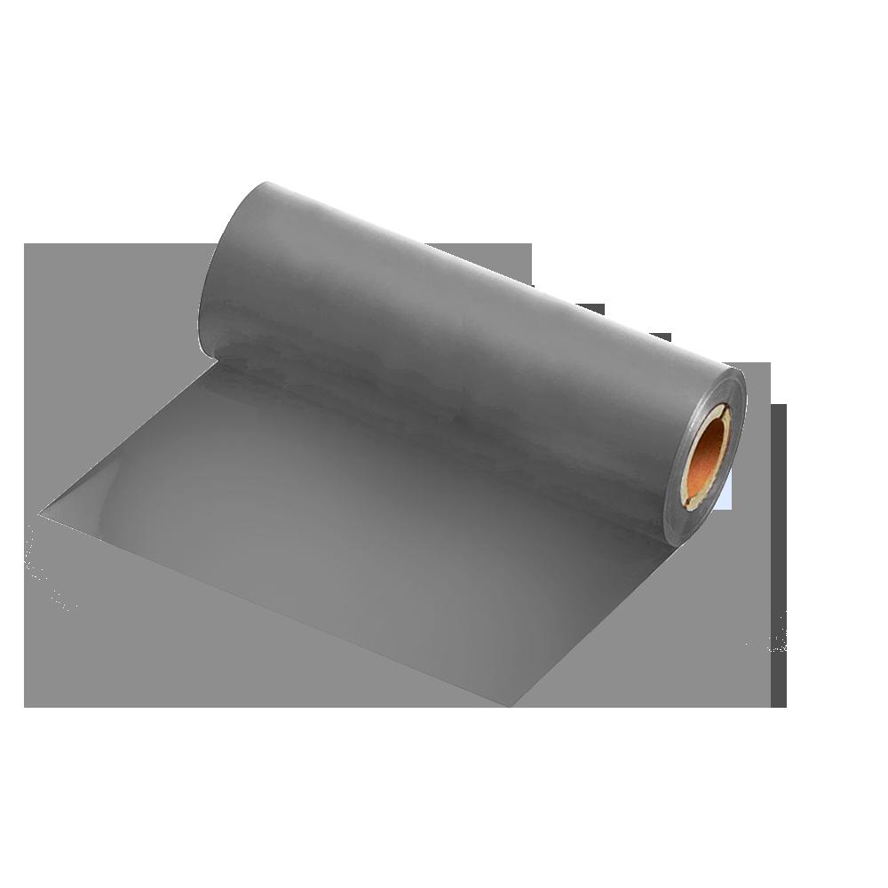 Ribbon Resina Prata 110x74m para Fita de Cetim e BOPP