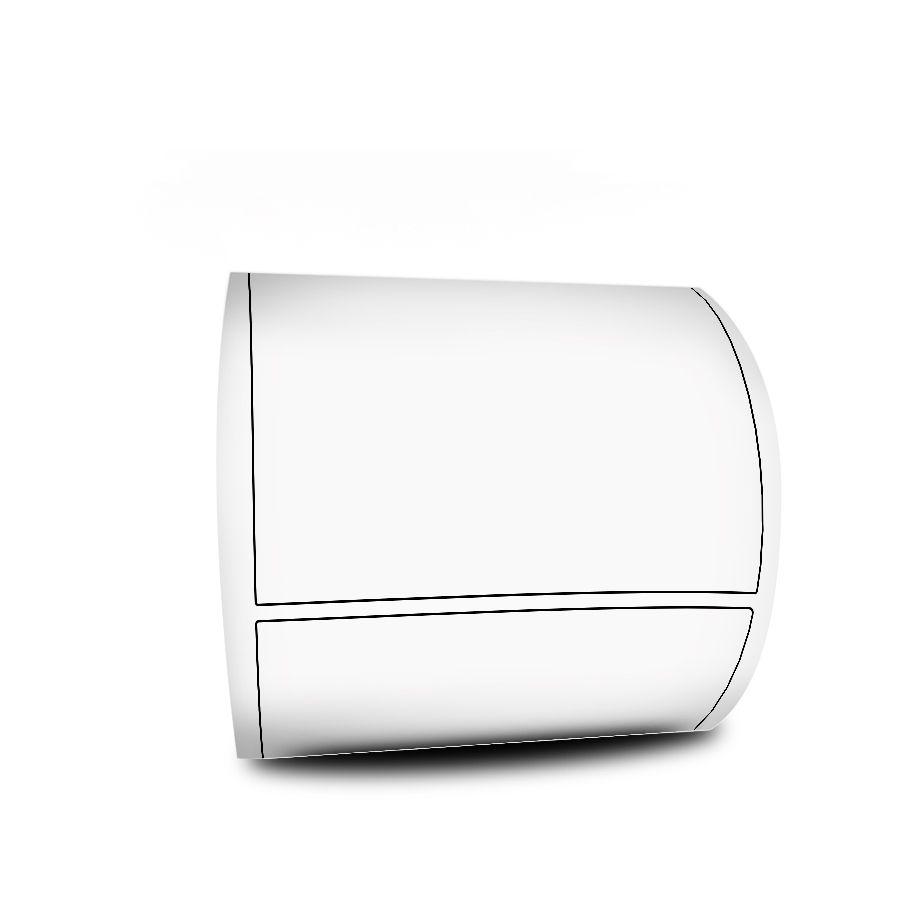 Rolo de Etiqueta Adesiva 100x70 mm Couchê