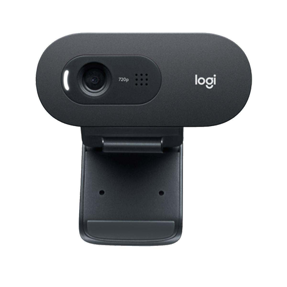 Webcam Logitech com microfone C505 Hd 720p