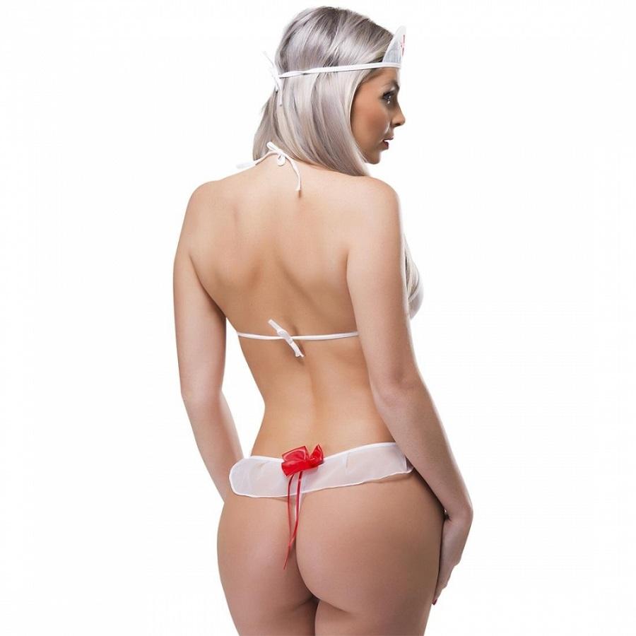 Fantasia Mini Enfermeira