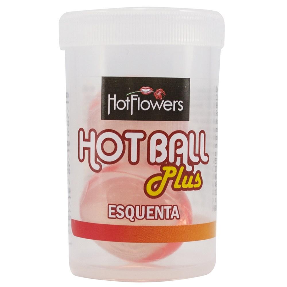 Bolinhas do Prazer Esquenta Hot Ball Plus - Hot Flowers