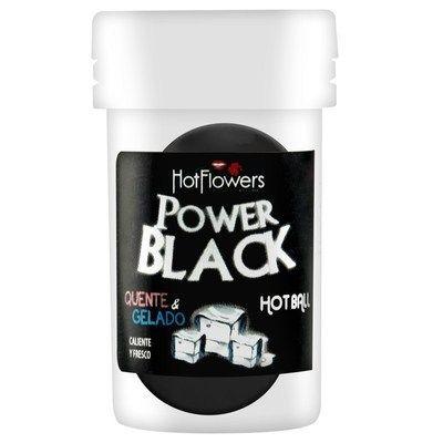 Bolinhas do Prazer Hot Ball Power Black - Hot Flowers