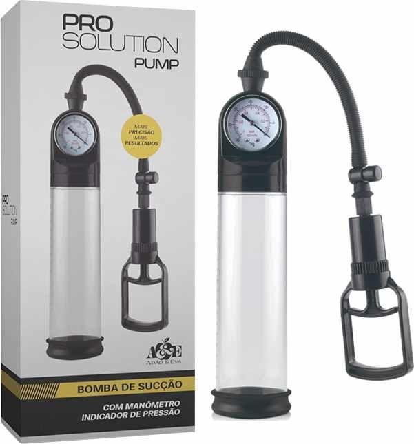 Bomba Peniana Pro Solution Pump - Adão &  Eva