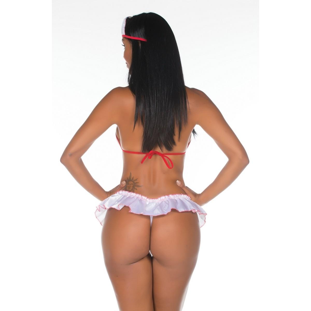 Fantasia Mini Enfermeira Pimentinha