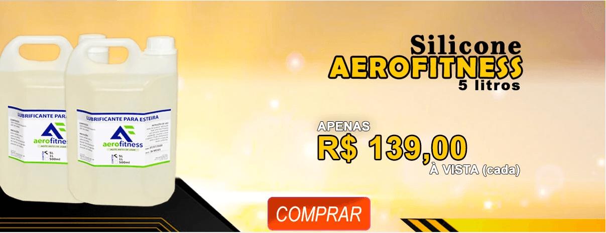 Silicone Lubrificante Líquido Para Esteira 5 Litro Aerofitness
