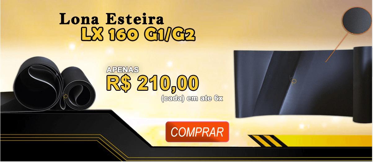 Lona para Esteira Elétrica Movement LX 160 G1 e G2