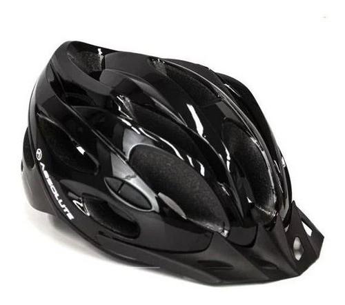 Capacete Bike Ciclismo Bicicleta Absolute Nero Preto G