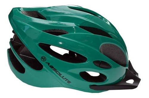 Capacete Bike Ciclismo Bicicleta Mtb Absolute Nero Verde M