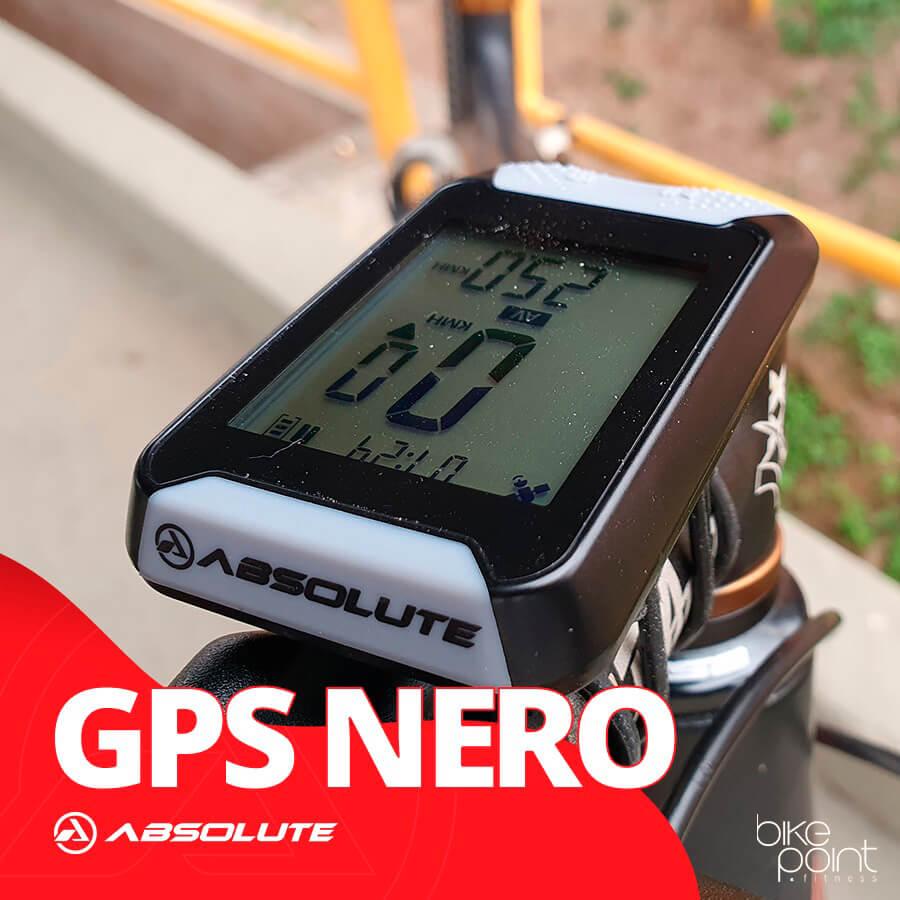 GPS Bike Bicicleta GPS Absolute Nero Strava