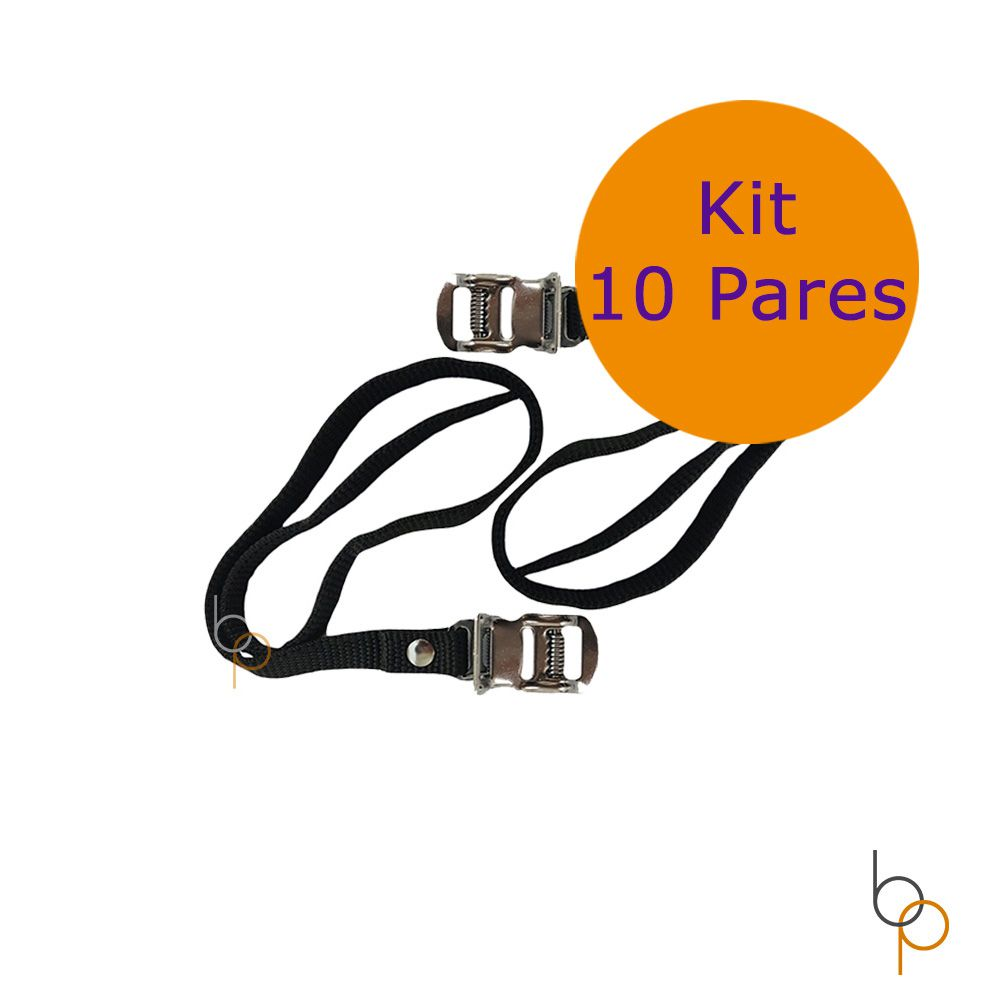 Kit 10 Pares Correias Firma Pé Bike Trans Bike e Racks