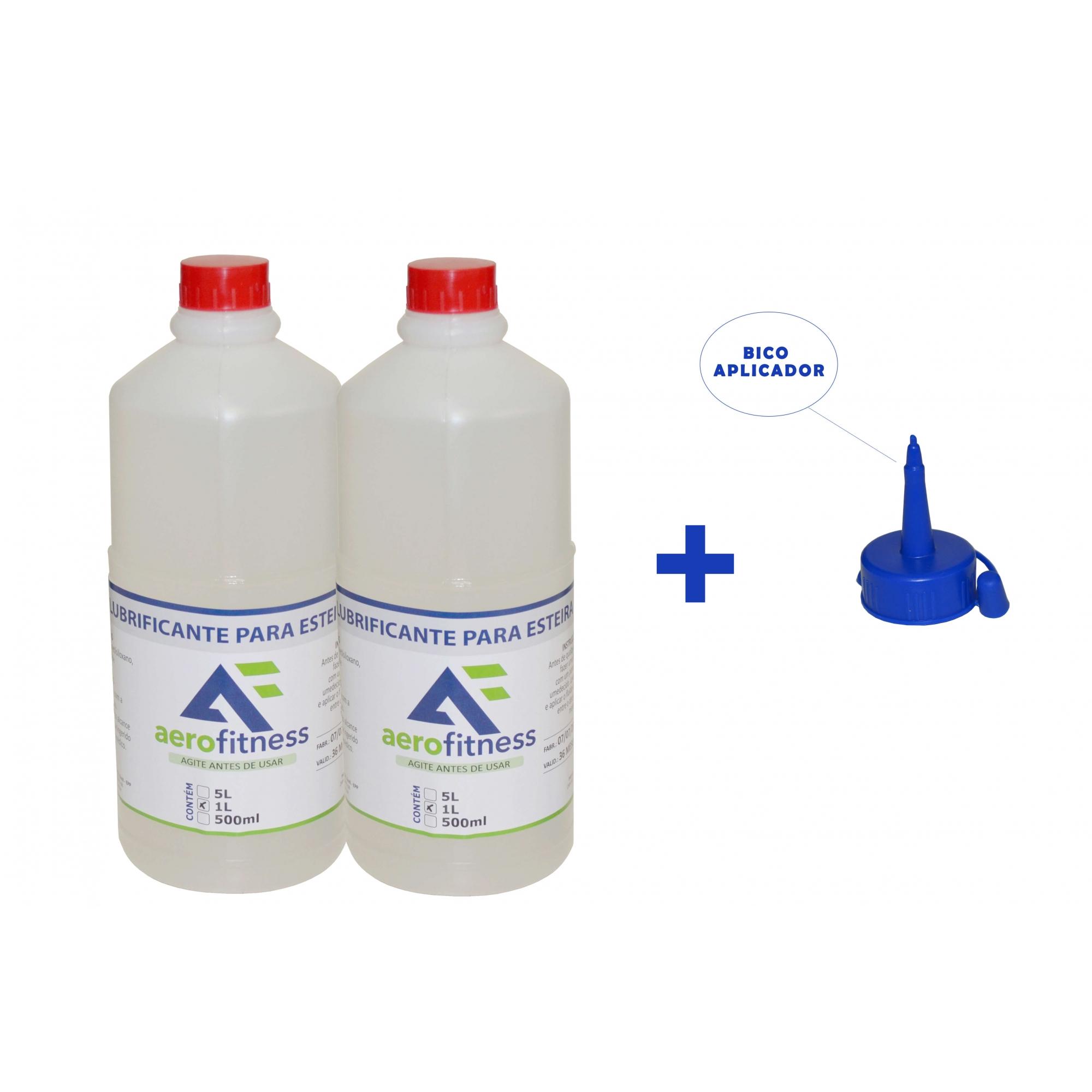 Kit 2 Litros Silicone Líquido Para  Lubrificante Esteiras