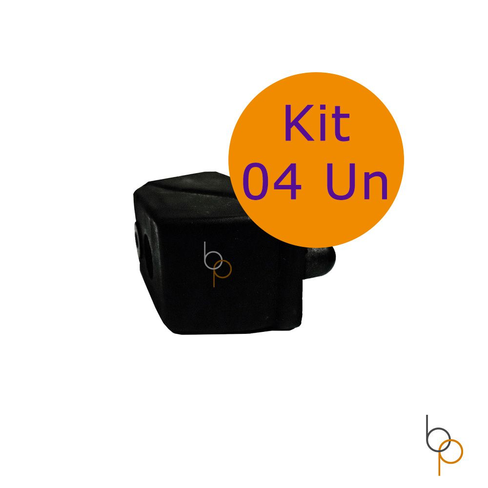 Kit 4 Amortecedores Esteira Movement LX 160 G1 e G2