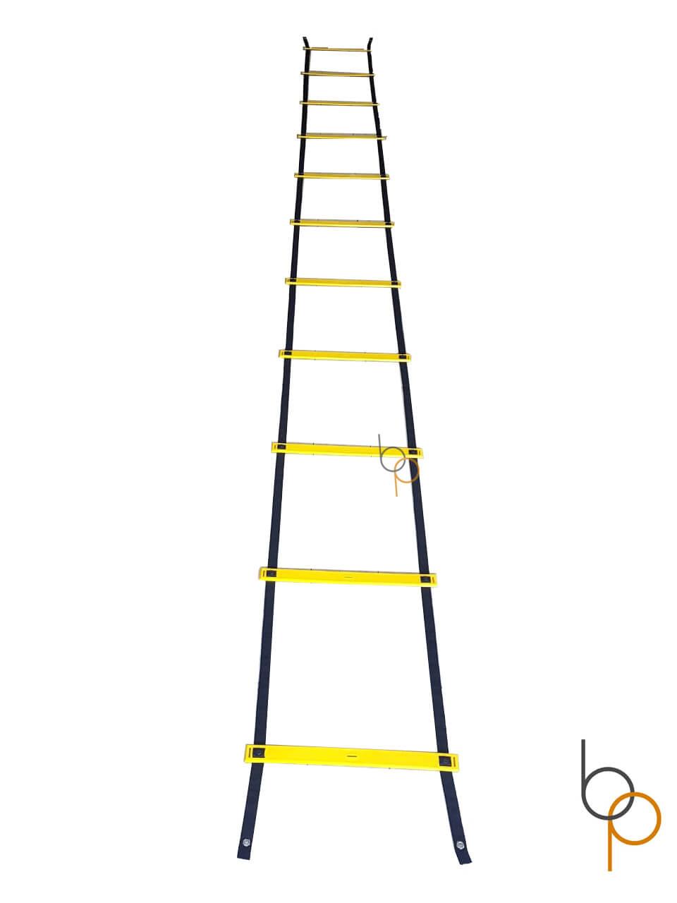 Kit Escada Agilidade Pvc Funcional Barreira Roda Abdominal