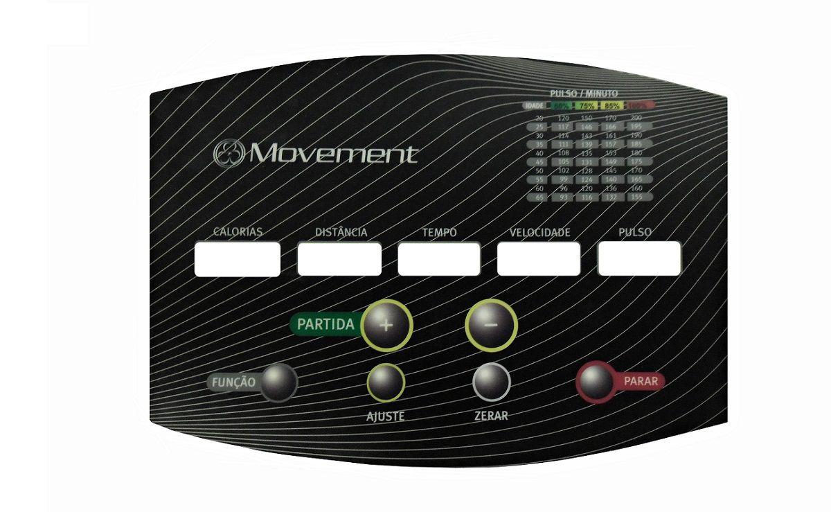 Kit Painel Adesivo E Gabinete Esteira Movement Lx 160 G3