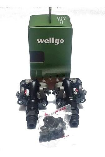 Pedal Bike Clip Mtb Wellgo M919 Com Taquinhos