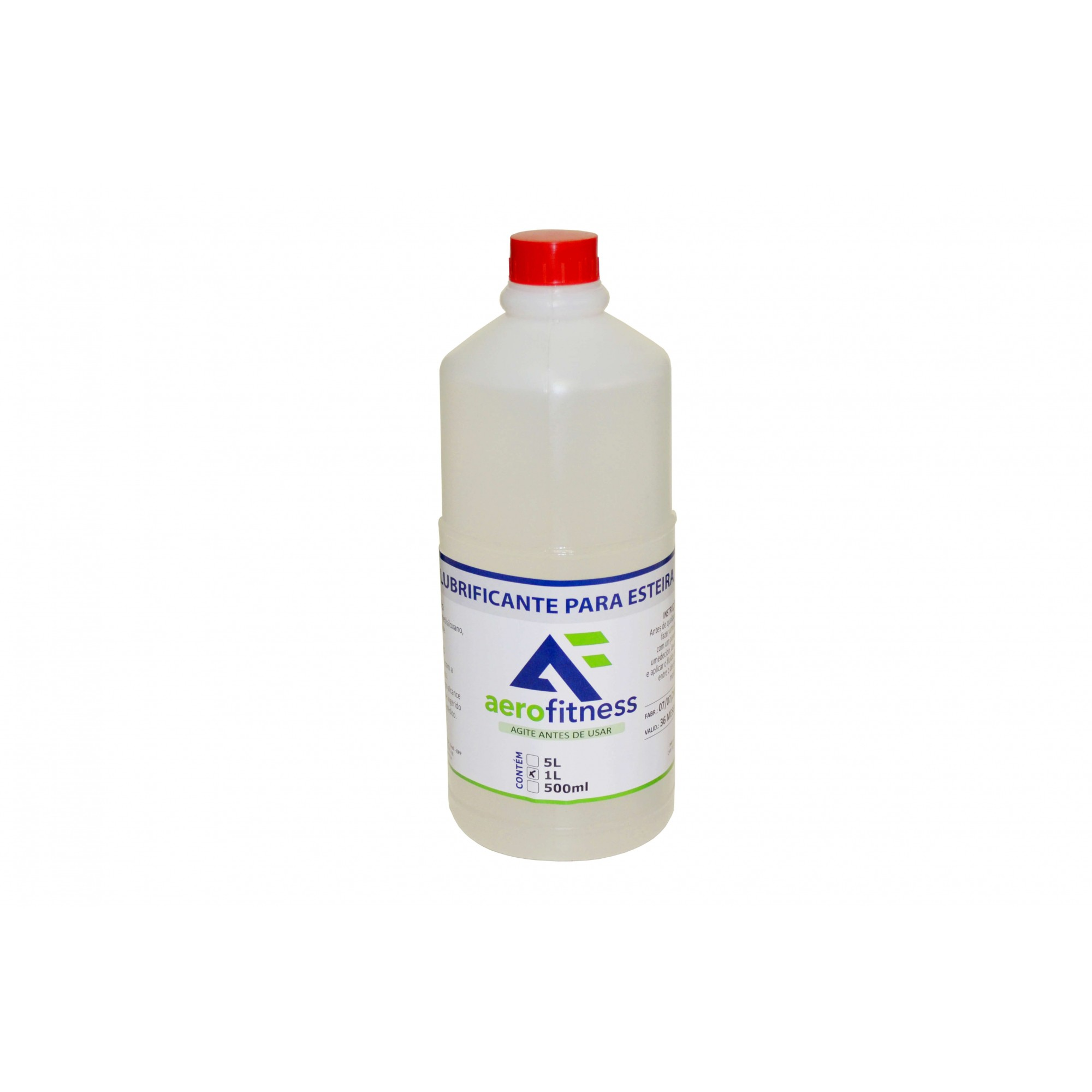 Silicone Líquido Lubrificante Para Esteiras 1 Litro Aerofitness