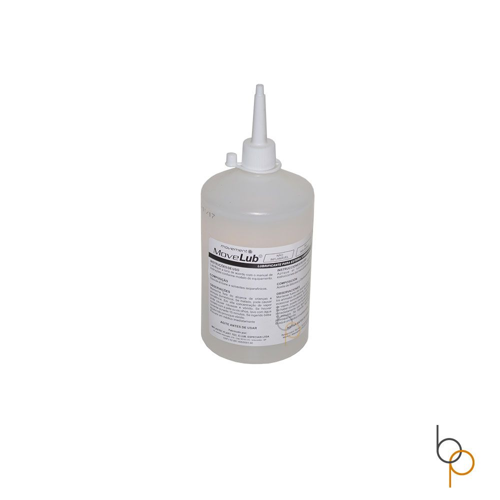 Silicone Lubrificante Original Para Esteiras Movement Movelub 500ml